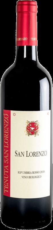 vino san lorenzo rosso IGP umbria 2018 biologico 2